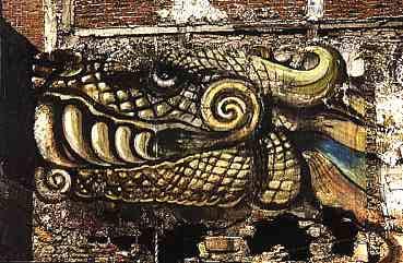 Das drachen bestiarium drachen bilder for Mural quetzalcoatl
